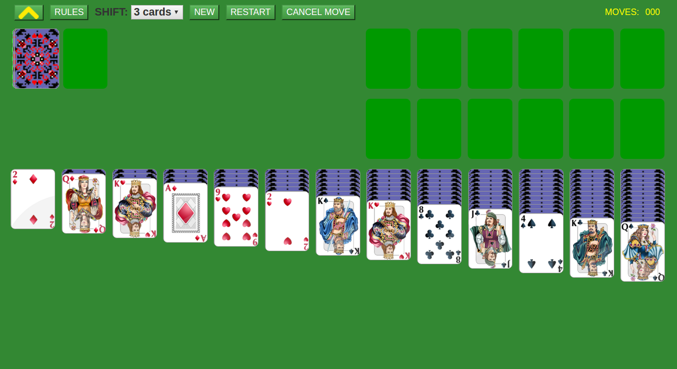triple klondike solitaire